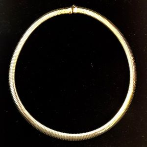 Jewelry - Vintage Gold Plated Omega Necklace